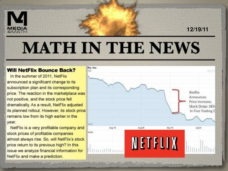Math in the News: 12/19/11