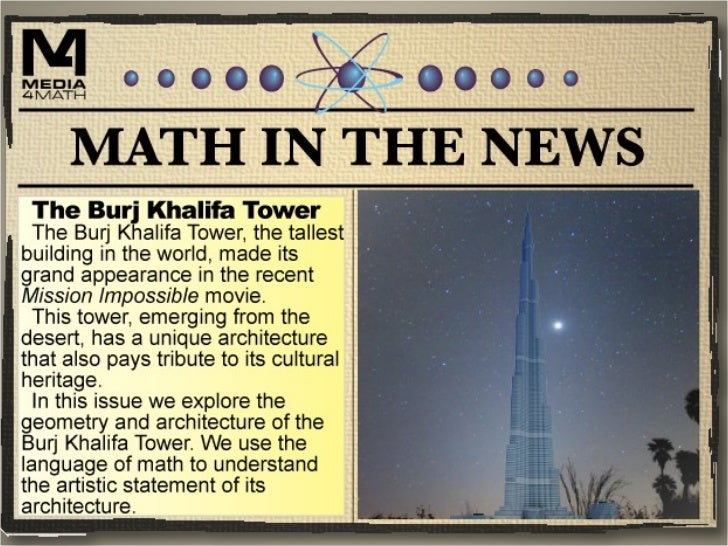 Math in the News: 1/12/12