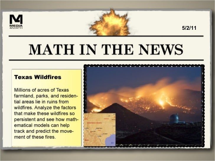 Math in the News: 5/2/11