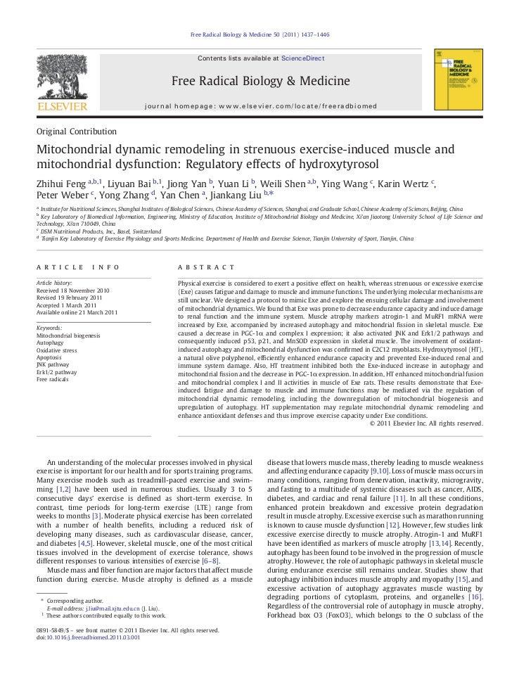 Free Radical Biology & Medicine 50 (2011) 1437–1446                                                                    Con...