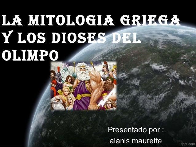 La Mitologia Griega Historia