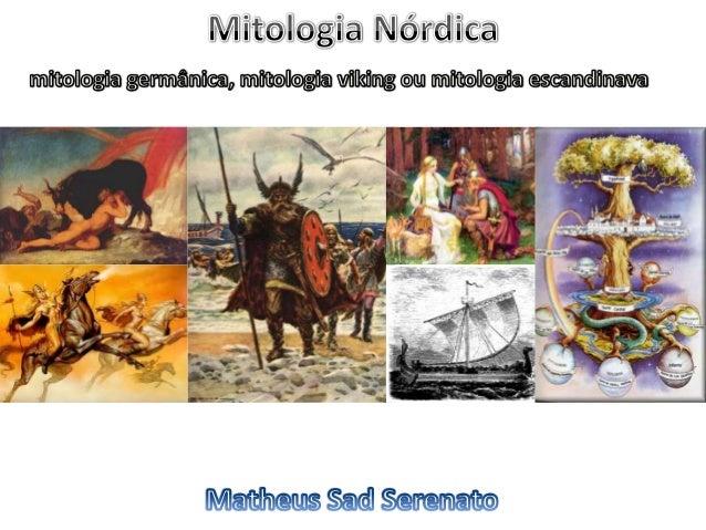 Mitologia nórdica   apresentação moderada