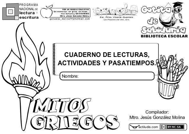 Mitos griegos-cuaderno-de-lecturas-actividades-y-pasatiempos