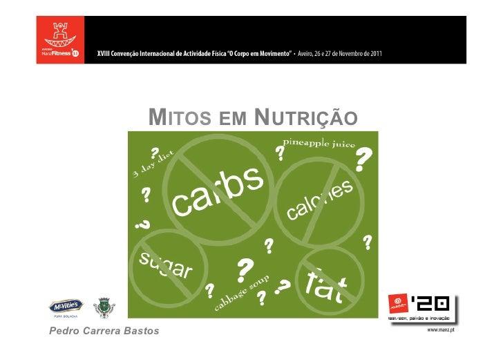 Mitos da nutrição
