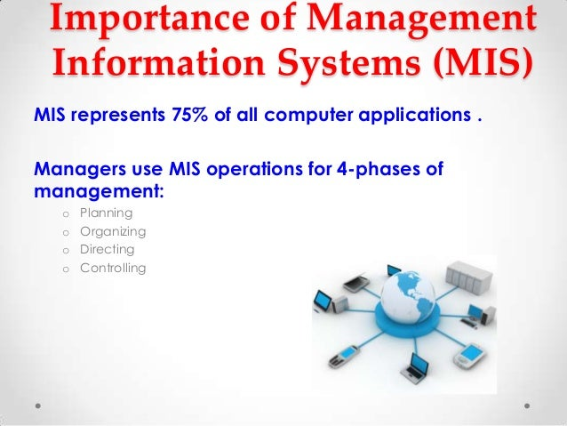 importance of information systems
