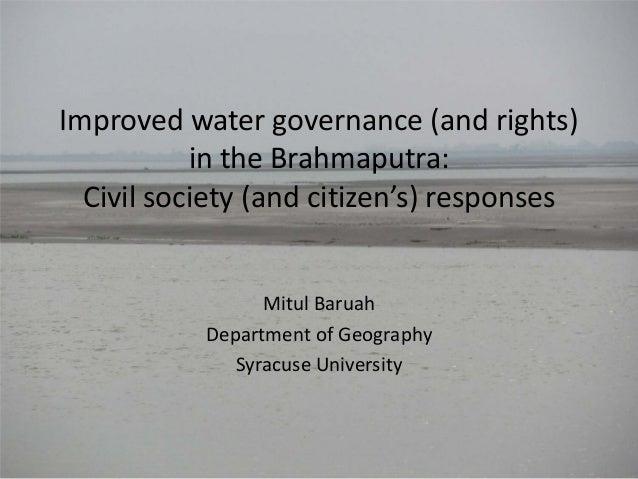 Mitul baruah - Guwahati Dialogue, 10th September, 2013