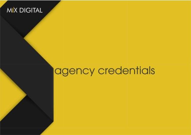 Mix Digital Marketing Agency Credentials