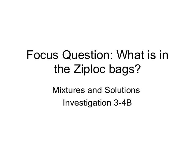 Mixtures and solutions 3-4b