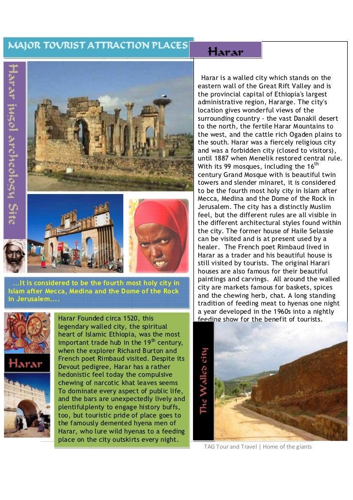 MAJOR TOURIST ATTRACTION PLACES:PART TWO