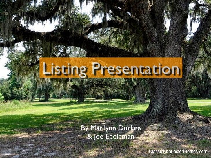 Mj listing presentationkeynote