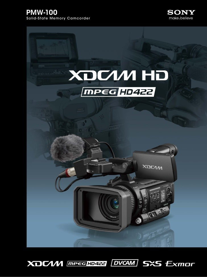 PMW-100Solid-State Memory Camcorder