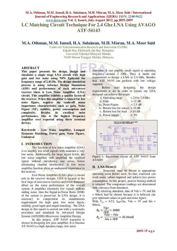 M.A. Othman, M.M. Ismail, H.A. Sulaiman, M.H. Misran, M.A. Meor Said / International        Journal of Engineering Researc...