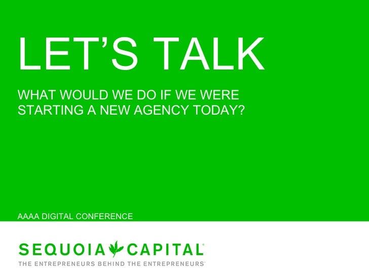 AAAA: The Future of Advertising Agencies