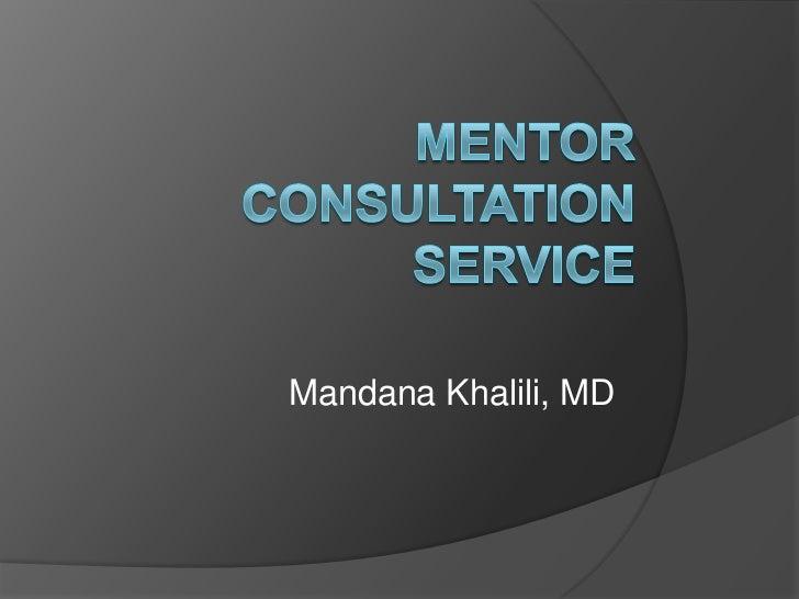 Mandana Khalili, MD