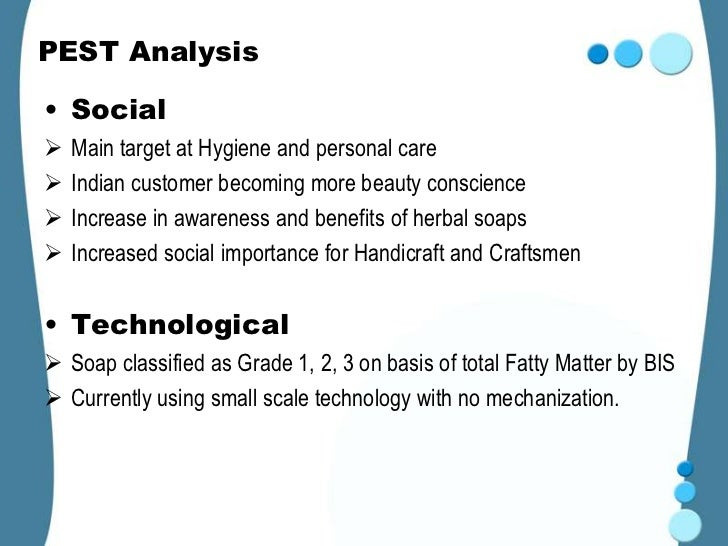 pest analysis of cosmetics industry Not so long ago, i had to do a pest analysis of the uk cosmetic surgery market  for an interview here's what i found ------- this is a pest.