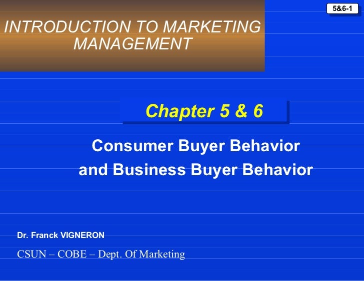 Mkt304ch5and6