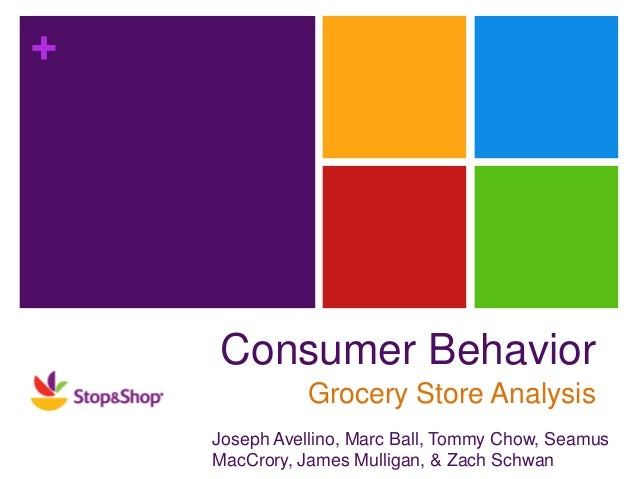 consumer attitude and behaviour analysis towards the grocery market marketing essay Quantitative research report: 'attitudes towards online shopping and knowledge about shopping online securely' prepared by stancombe research & planning for nsw fair trading, 2012.