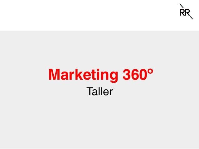 Marketing 360º Taller