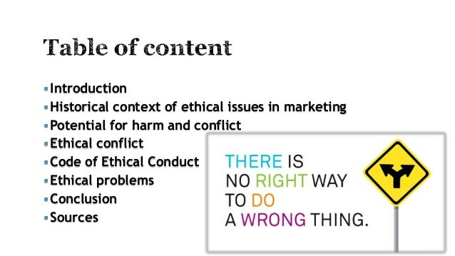 Essay on ethical issues in marketing