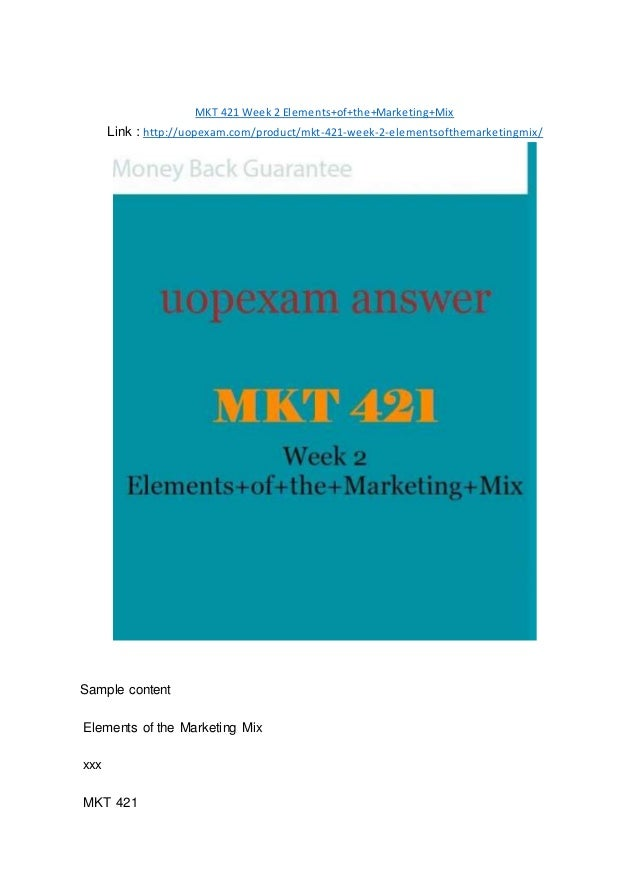 marketing 421 week 1 assignment Mkt 421 - personal branding paper week 2 essay on favorite brand all references cited perfect apa formatting in docx file 100% money back guarantee assignment instructions write a 750- to.