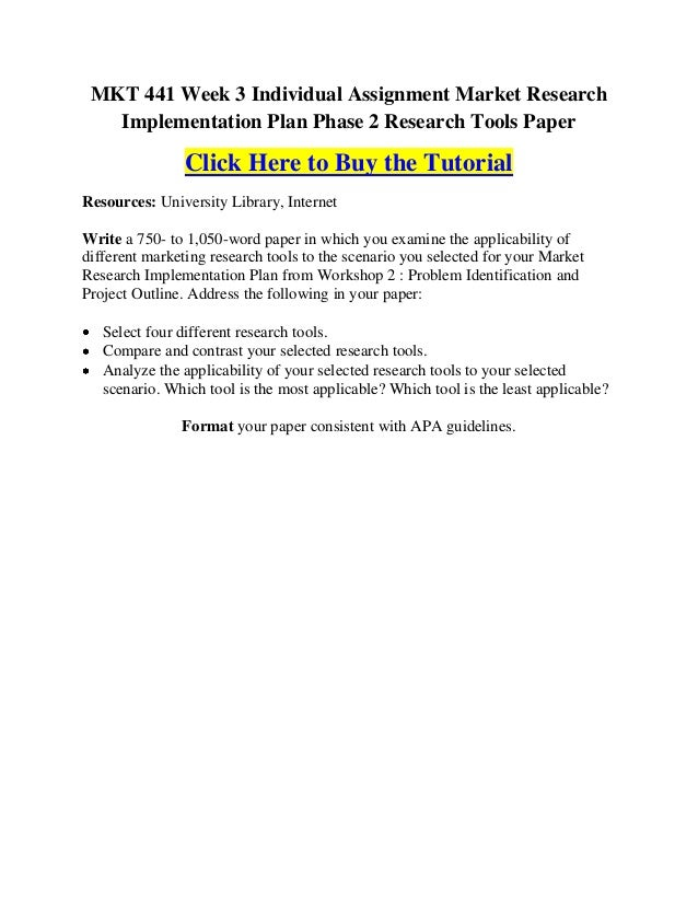 market research implementation plan research tools paper This paper describes the use greenbook, the guide for buyers of marketing research this article will outline strategies for taking full advantage of market.
