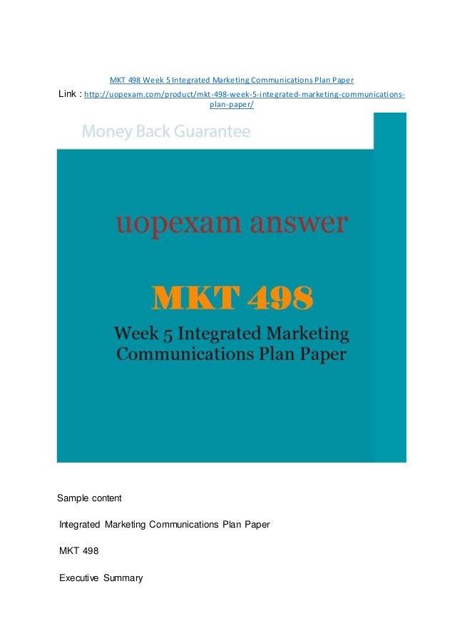 mkt 435 week 1