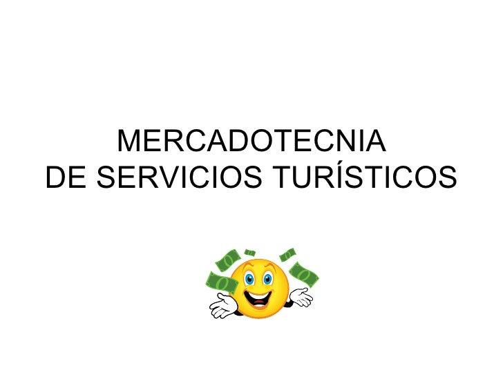 Mkt De Servicios Turísticos