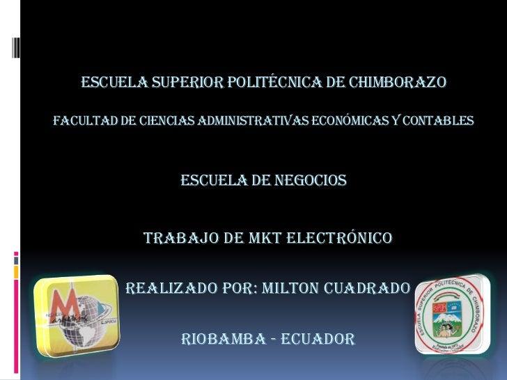 mkt electronico