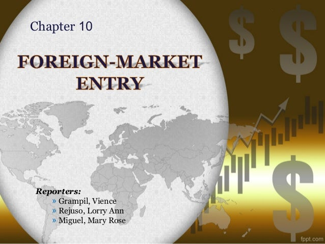 Foreign-Market Entry