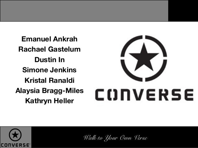 Converse Advertising Campaign DEC