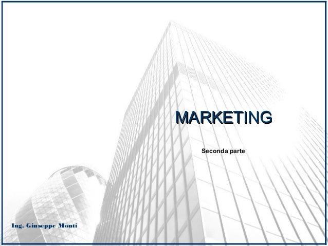 Marketing _ INTRODUZIONE _ seconda parte