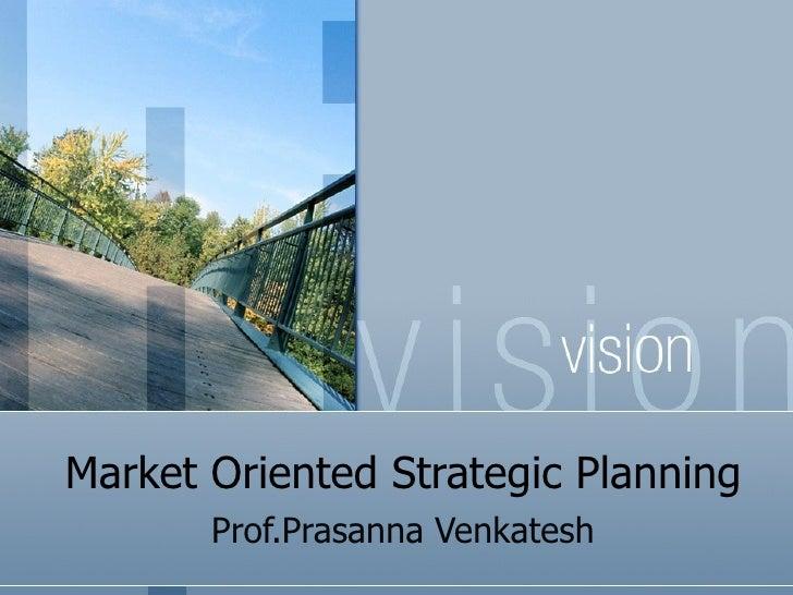 Mktg stratagic planning