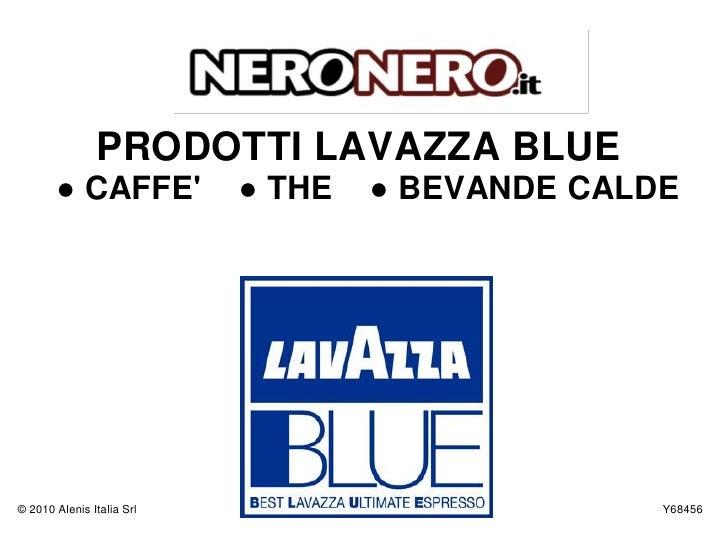 Catalogo Cialde Lavazza BLUE
