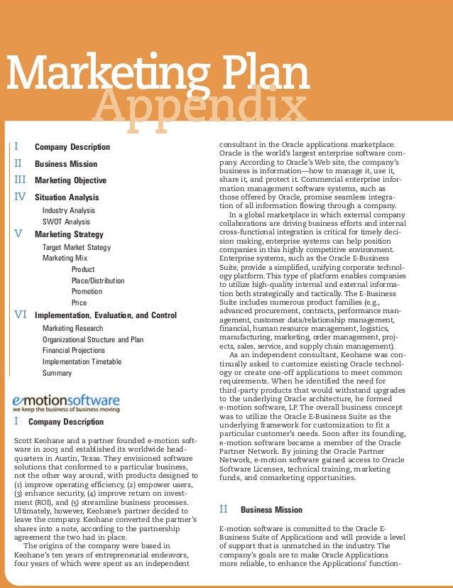 Marketing Plan Book