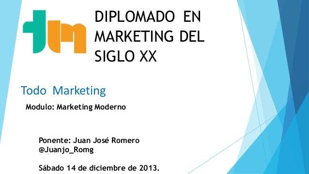 Diplomado en Marketing del Siglo XXI: Sesión 5
