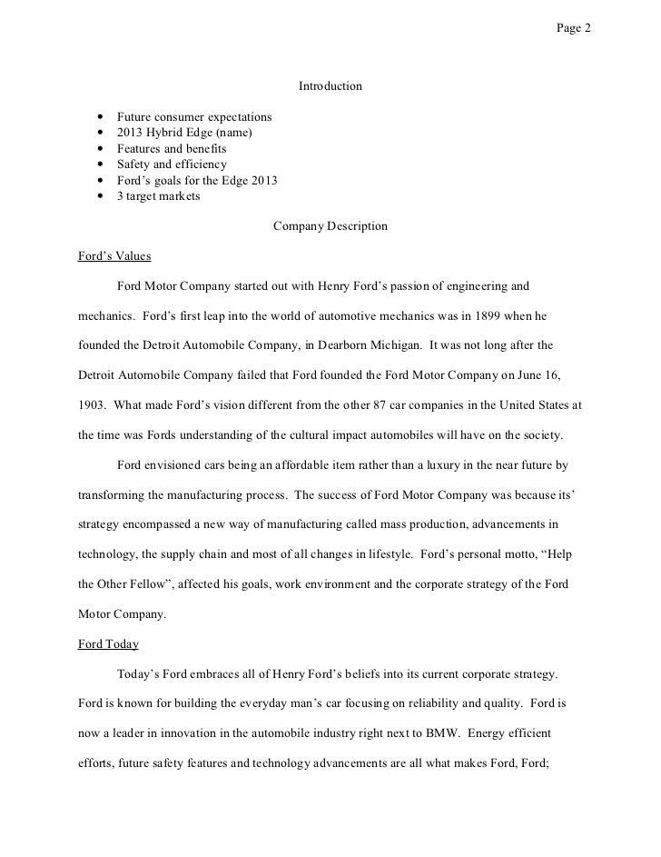 hybrid cars essay