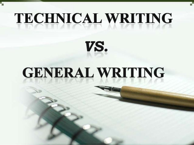 technical writing seminar