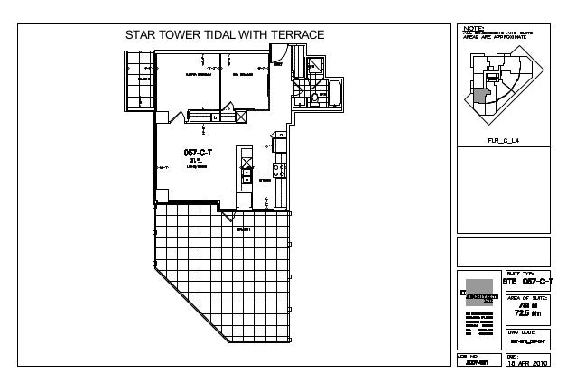 STAR TOWER TIDAL WITH TERRACE