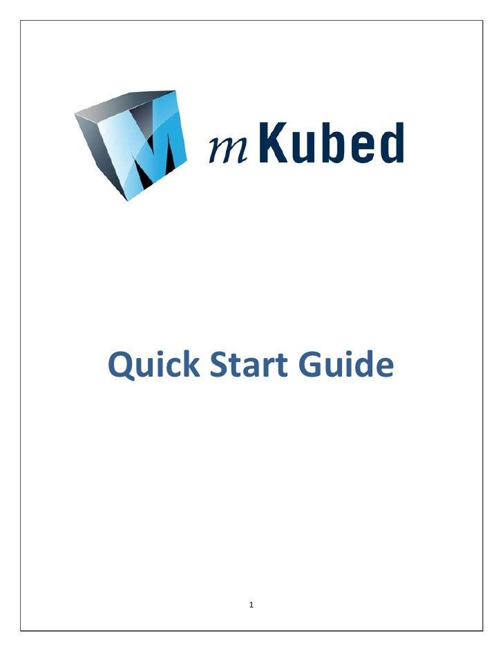 Quick Start Guide        1