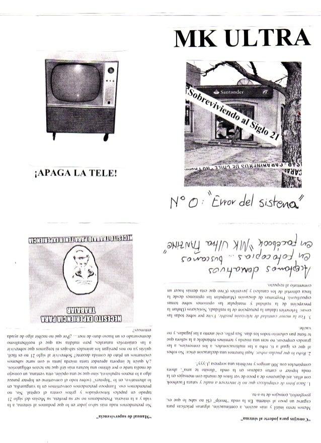 MK ULTRA Fanzine Nº0