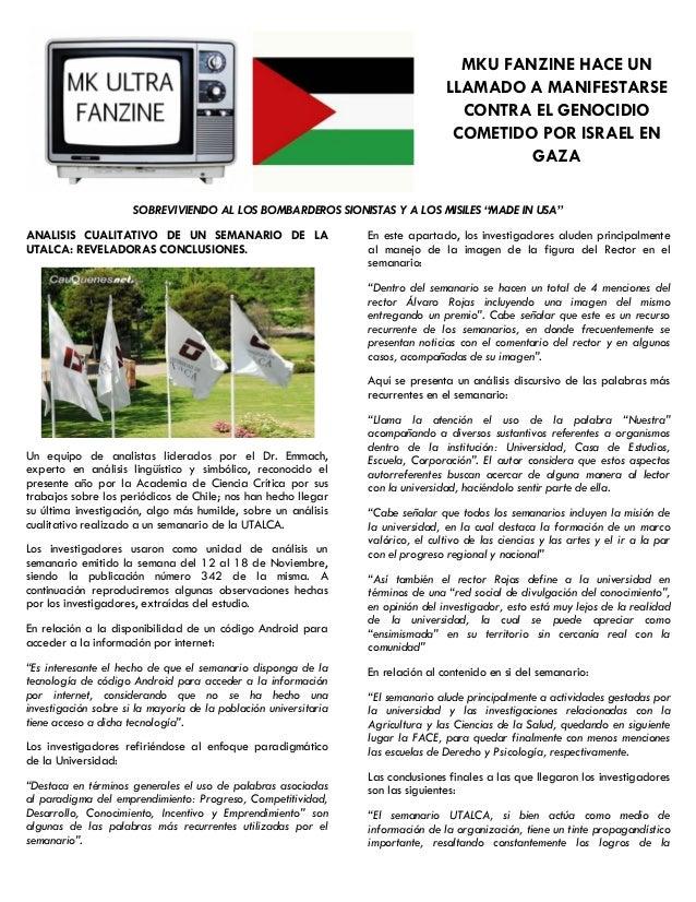 MK ULTRA Fanzine Nº6