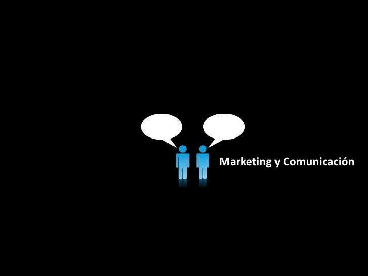Marketing y Comunicación<br />