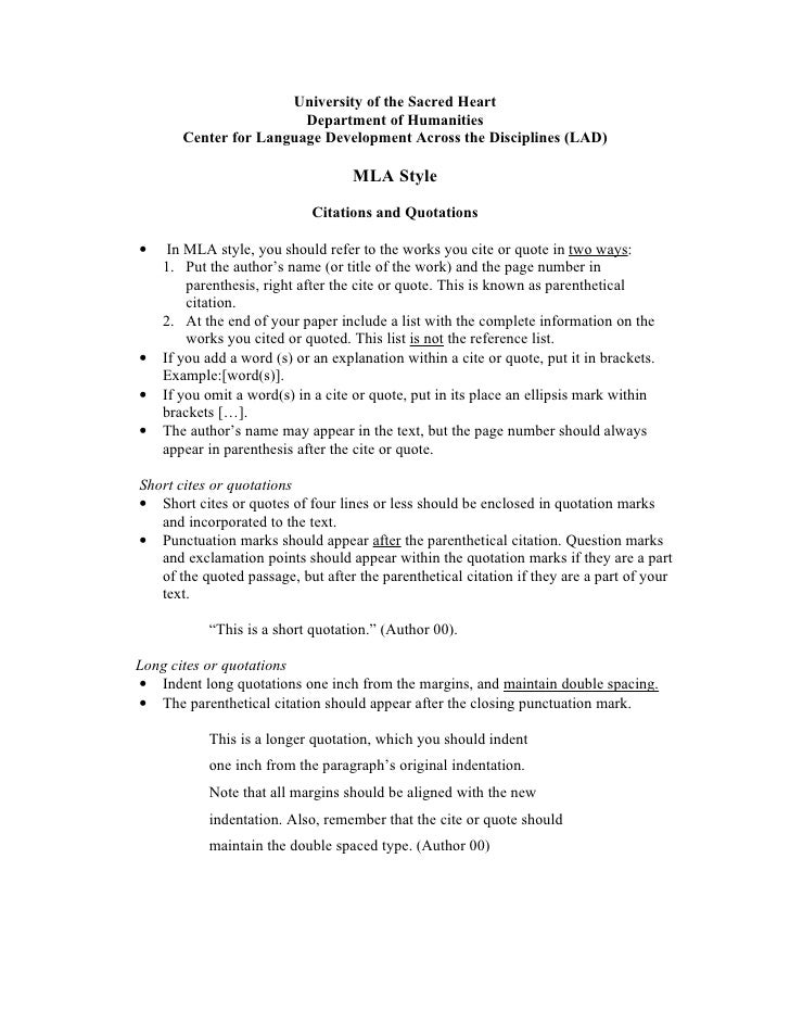 MLA References