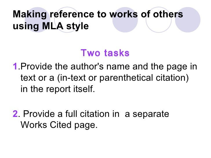 book report mla style Mla style citations, 7th ed (modern languages association) this guide provides basic guidelines and examples for citing sources using the mla handbook for writers of.