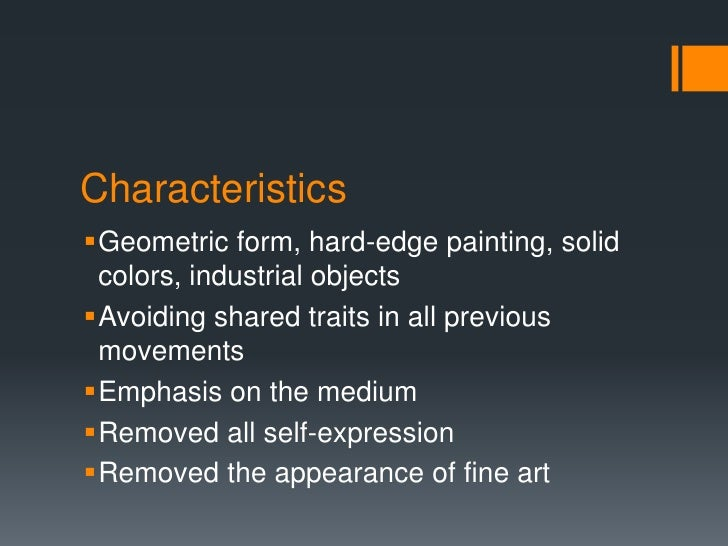 Ml a minimalism presentation final version for Minimalist art characteristics