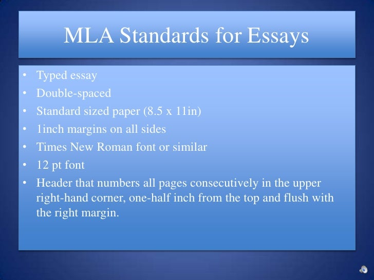 mla format for essay questions
