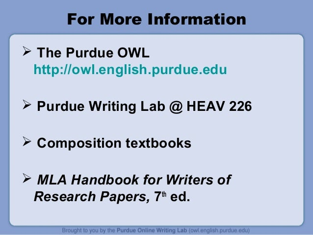 Writing an essay site http owl english purdue edu