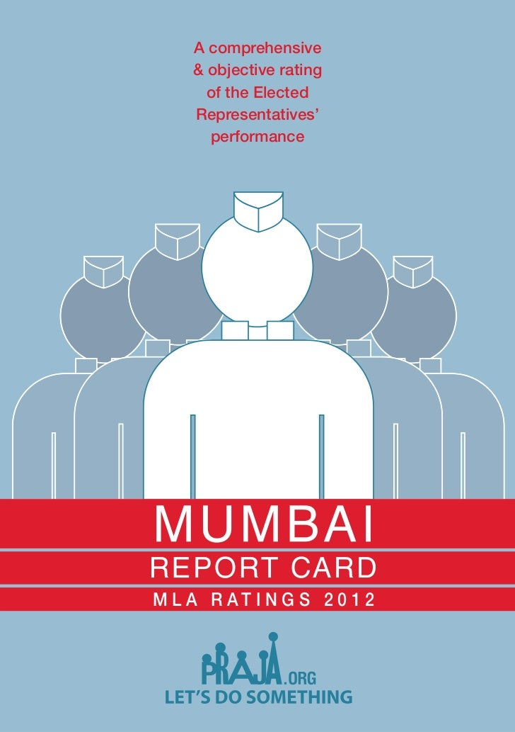 MLA Report Card 2012