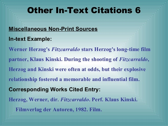 Question about in-text citation in MLA format?