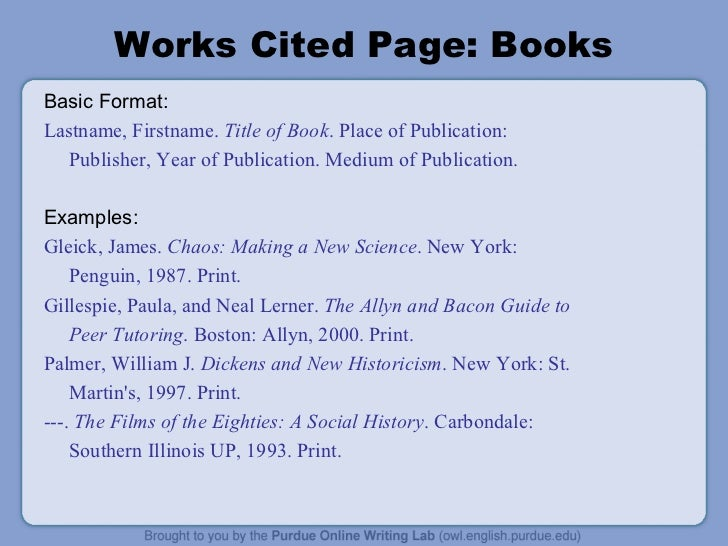 citing a book mla style The 8th edition of the mla handbook does not list specific rules on how to cite a dvd, a book, a journal article, etc, but instead outlines a universal set of.